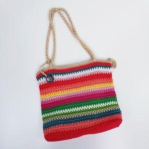 The Sak Hobo Crochet Shoulder Bag  NWOT